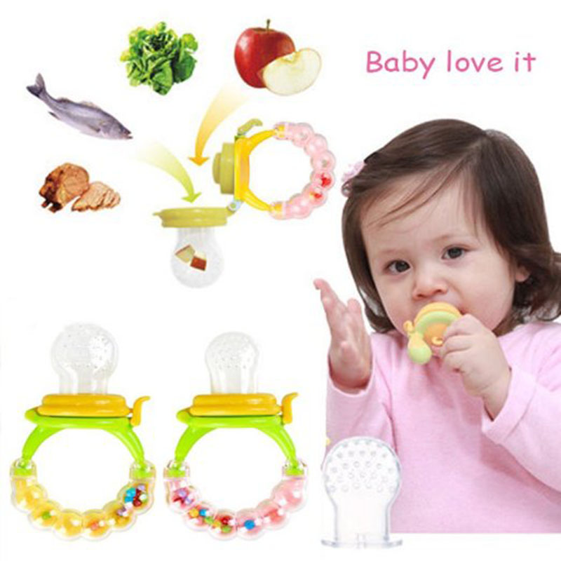 Baby Pacifier Clips Fresh Food Milk Nibbler Feeder Nipper Feeding Safe Baby Supplies Nipple Teat Pacifier Bottles Sucette Baby