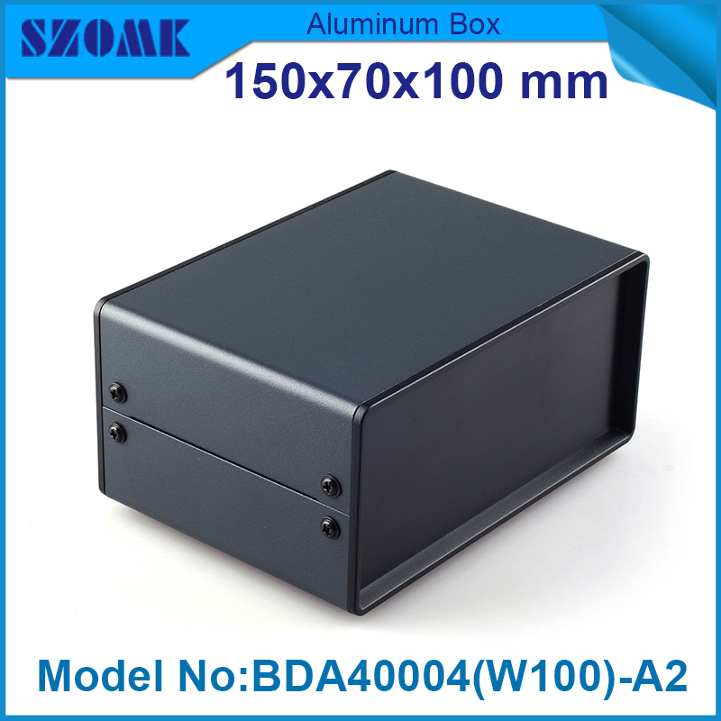 4 pcs/lot abs plastic end panels easy do cut holes with iron case body be metal distribution enclosures 69x149x100 mm<br><br>Aliexpress