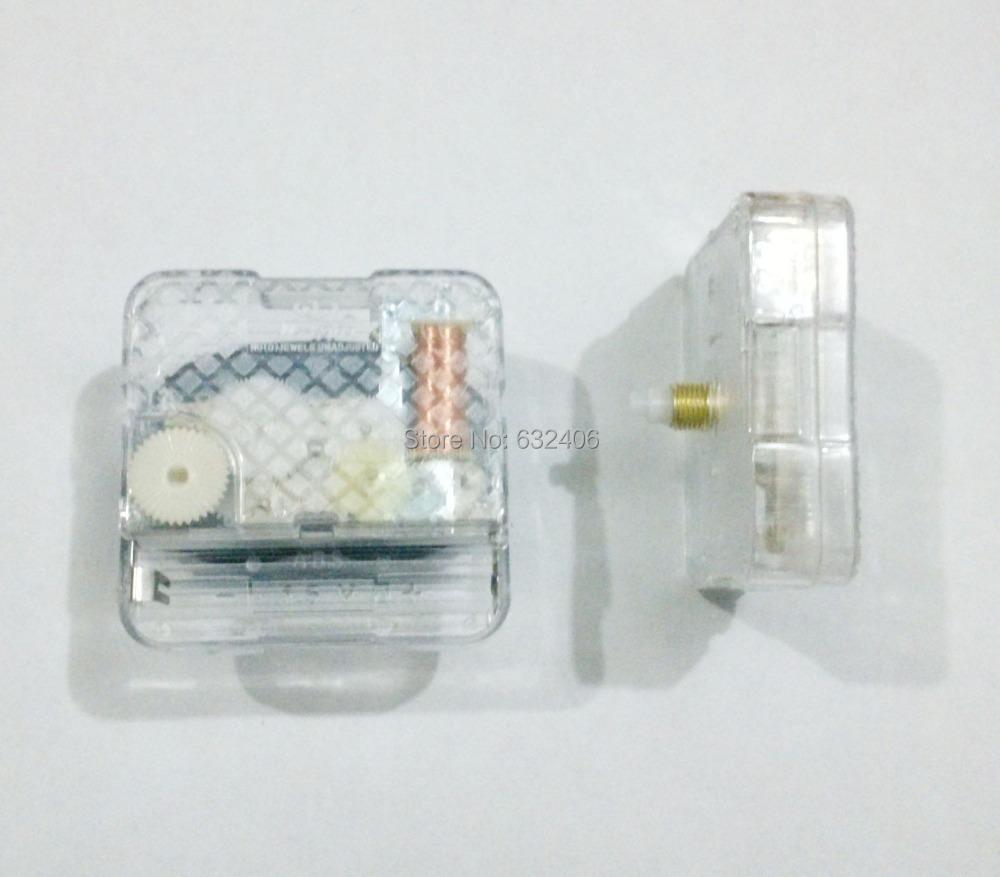New JL2003 transparency Sweep Mute Movement Quartz Clock Movement for Clock Mechanism Repair DIY Parts clock parts accessories(China (Mainland))