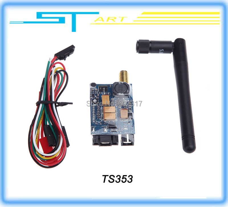 Newest FPV 5.8ghz 5.8G 400MW Video Audio A/V Transmitter Sender Module TS353 for rc drone helicopter with camera spare part <br><br>Aliexpress
