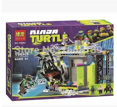 BELA 19Phantom Ninja Mutation Chamber Unleashed Minifigures Model Building Blocks Toys Compatible L79119