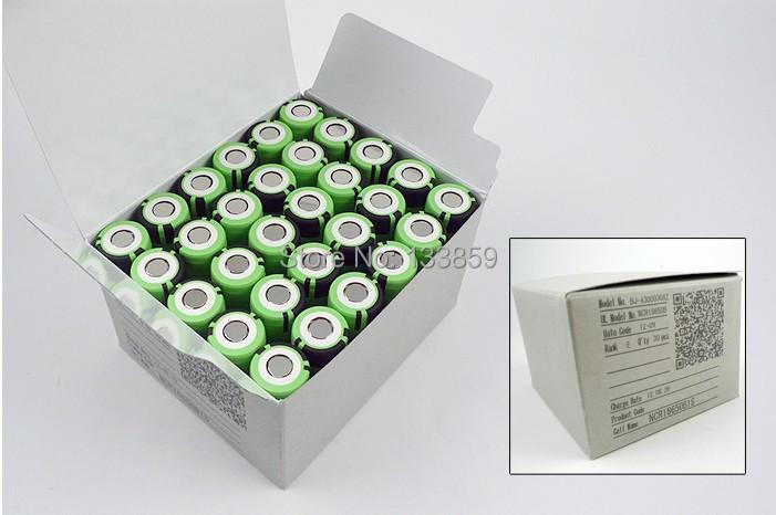 June 2015 New 4PCS Original NCR18650B 3 7V 3400mah 18650 rechargeable lithium battery for Panasonic free