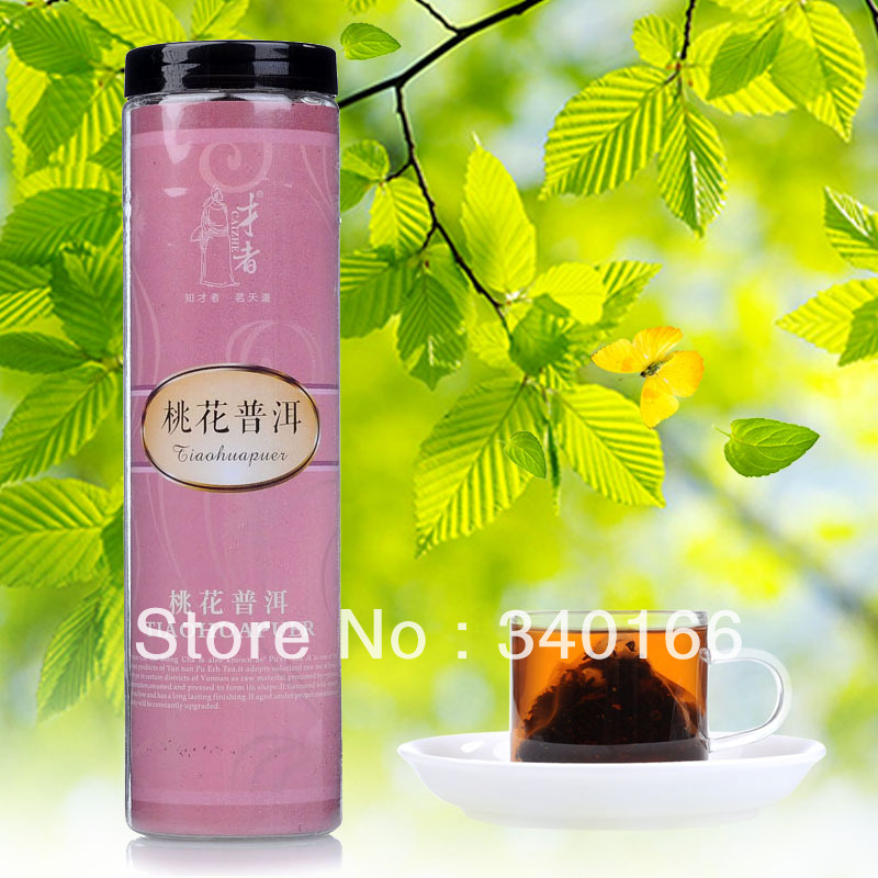Peach blossom PU er tea bags three-dimensional triangle package 60 flowers and plants tea cooked tea<br><br>Aliexpress