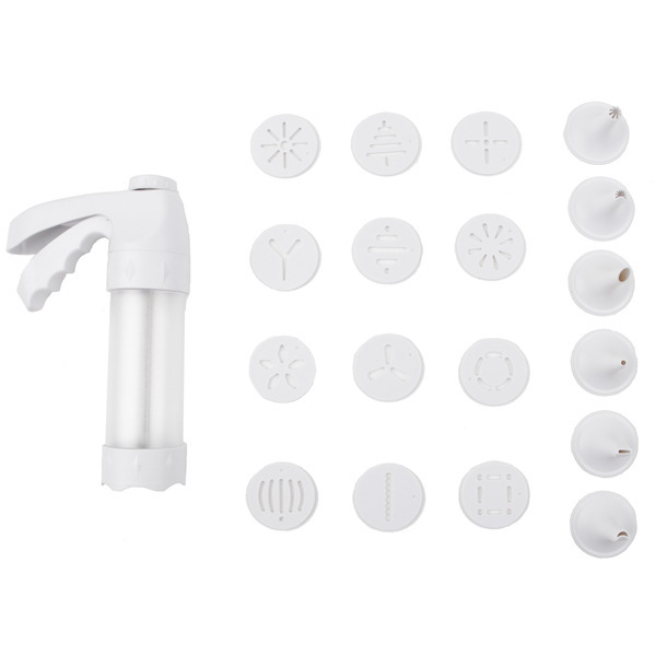 Cake Decorating Gun By Wilton : the same paragraph wilton cookies baking mold tool 12 gun ...