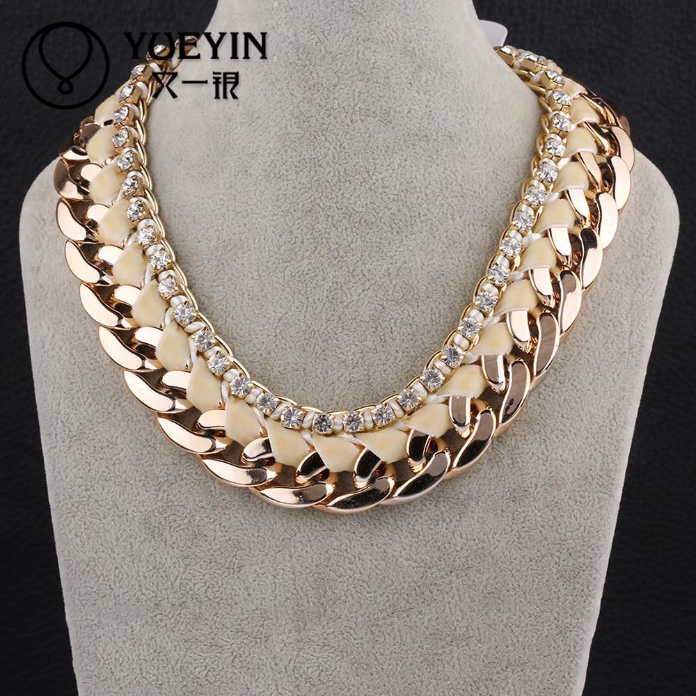 wholesale metal big chain necklace statement
