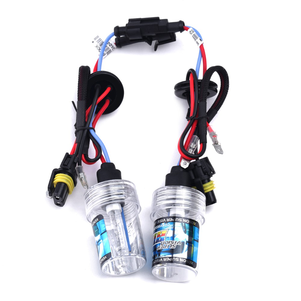 2X H7 Xenon Light Bulb DC 12V 35W Xenon Bulb Replacement For Cnlight Lamp 5000K 6000K 8000K Metal Ceramic Base For Car headlight