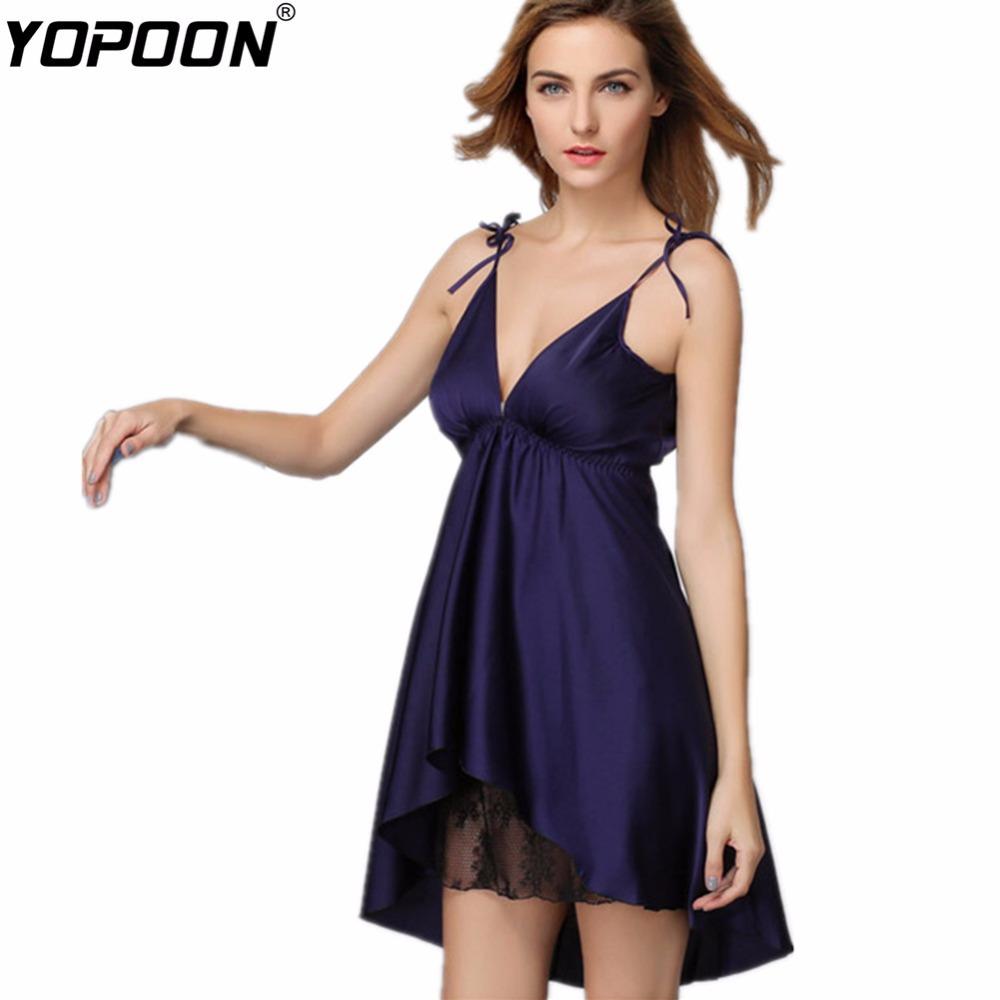 2015 New Women's Dresses Women Chemise Female Silk Sleeping Dress Night Skirts Nightgown Lingerie Sleepwear Home Clothes Female(China (Mainland))
