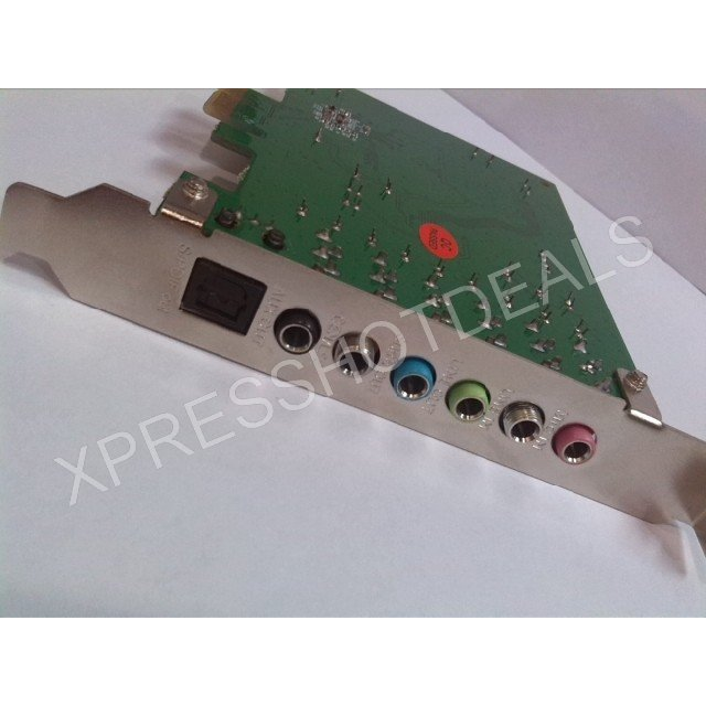 New PCI-E PCI Express 8 Channel 7.1 SPDIF Audio Sound Card PC windows7/8(China (Mainland))