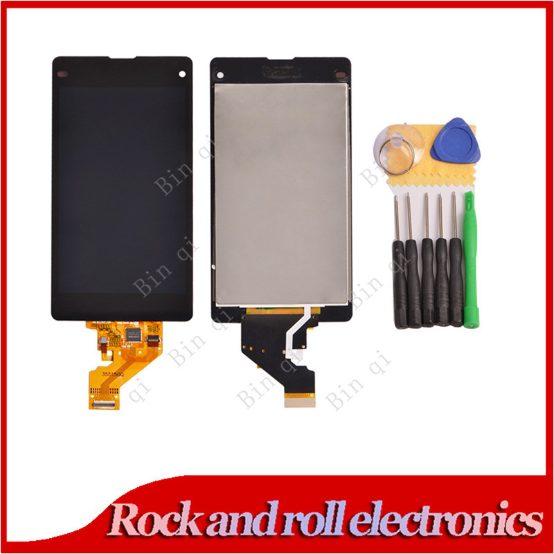 100% Guarantee LCD Sony Xperia Z1 Mini D5503 M51W Compact Display+Touch Screen Digitizer Assembly + Free tools - Rock and roll electronics store