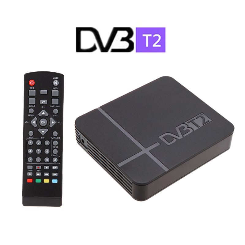 New 2015 RUSSIA/THAILAND DVB T2 Tuner MPEG4 DVB-T2 HD Compatible With H.264 TV Receiver W/ RCA / HDMI PAL/NTSC Auto Conversion(China (Mainland))