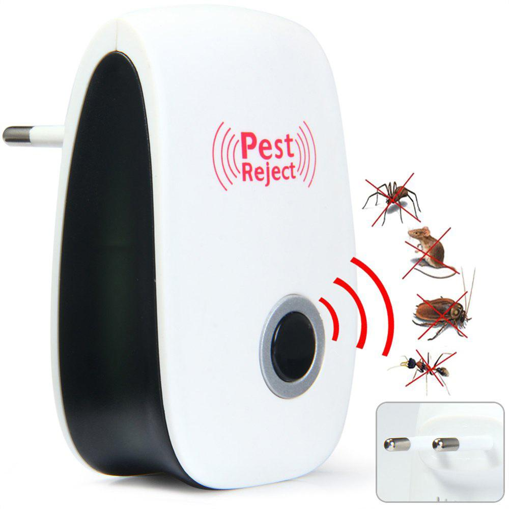 1pc Hot Enhanced Version Electronic Cat Ultrasonic Mosquito Repeller Mouse Repellent Cockroach Pests Reject -39(China (Mainland))