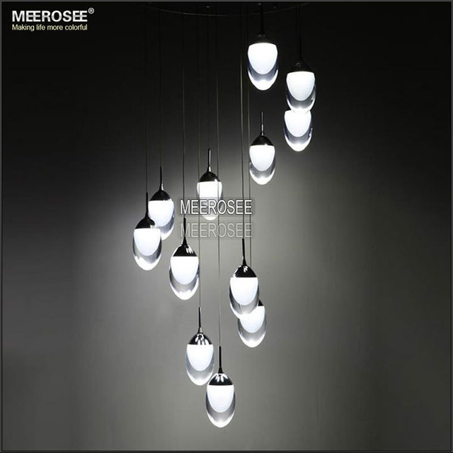 acheter led ceiling light fixture grand led lustre lampe pour stairs escalier. Black Bedroom Furniture Sets. Home Design Ideas
