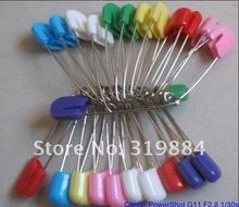 Free shipping 50 pcs Locking Baby Safety Cloth Nappy Diaper Craft Pin safety pin(China (Mainland))