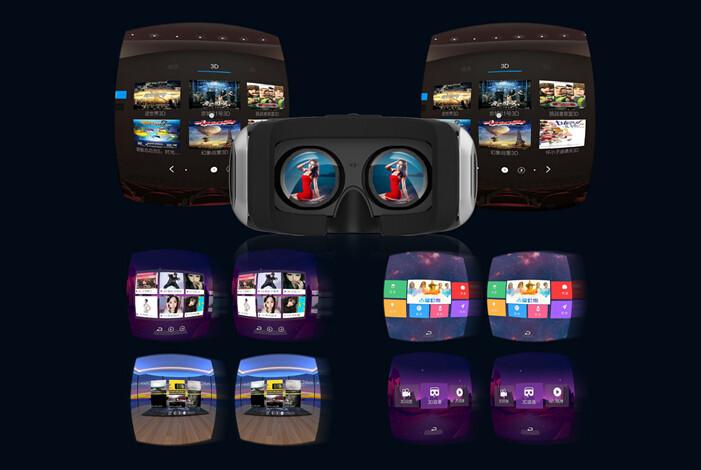 ถูก RK3288 Quad-coreความจริงเสมือน2D/3D 360 panoramic VRแว่นตาหมวกกันน็อค5.5นิ้วเต็มที่สมจริงมืออาชีพVRแว่นตา