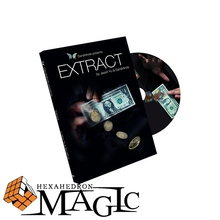 Free shipping New arrival Extract (All and Gimmick) by Jason Yu and SansMinds close-up card magic trick products / wholesale(China (Mainland))