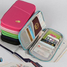 Buy Passport Cover Wallet Travel Wallets Card Holder Passport Holder Cash Credit ID Card Organizer Bag Women Men Female for $2.95 in AliExpress store