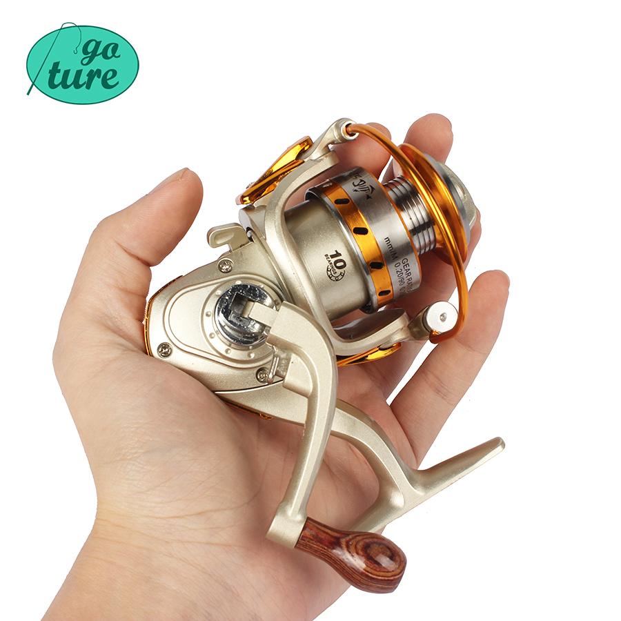 Buy goture 10bb metal spool mini fishing for Chinese fishing reels