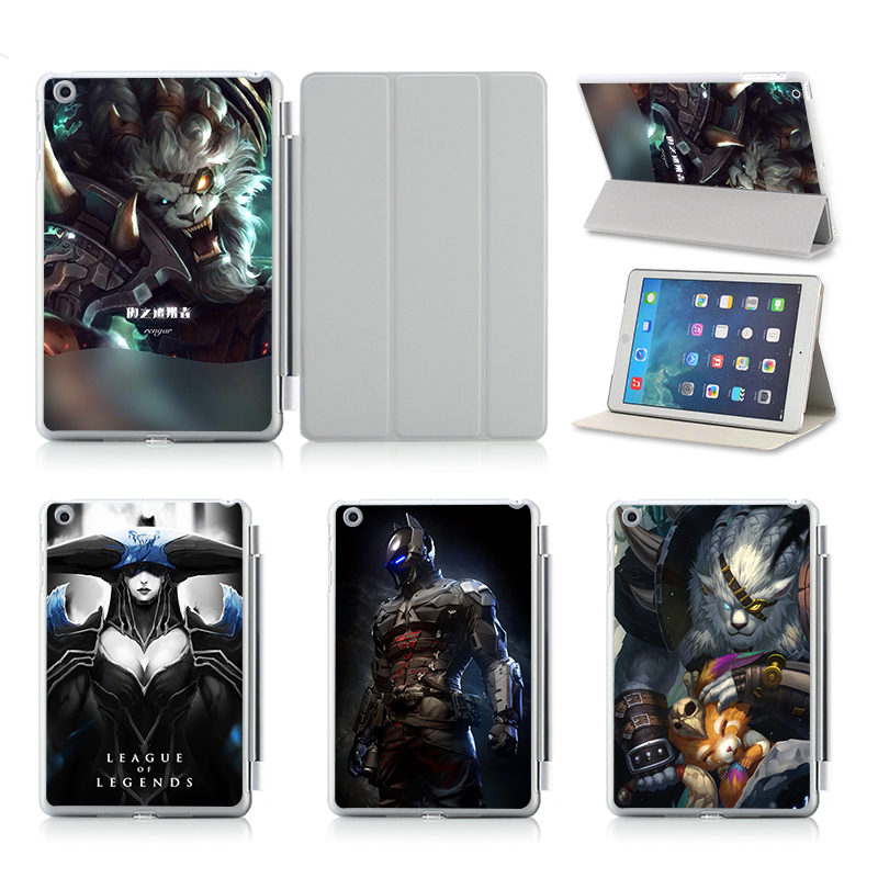 Customize Print Idea UV Print Flip Protective Shell/Skin For Apple IPad Air 2 Case Cover! Ranger Riot Games(China (Mainland))