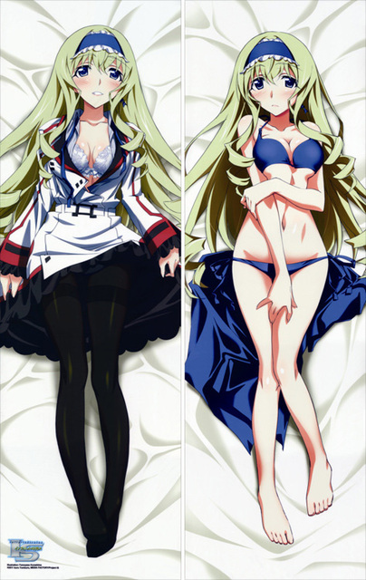 Free Shipping Anime Dakimakura hugging pillow case   Cecilia Alcott  Infinite Stratos  IS050