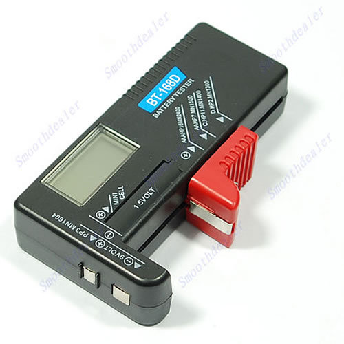 Free Shipping Digital Battery Tester Checker for 1 5V and AA AAA Cell dropshipping