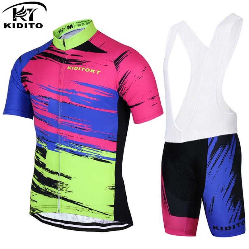 KIDITOKT Hunte Pro Rock Bicycle Wear Maillot Cycling Clothing Ropa Ciclismo MTB Bike uniform Cycle shirt Racing Cycling Jerseys(China (Mainland))