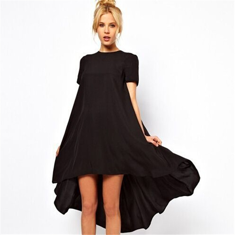 2015 Summer Style Women Plus Size 3XS 8XL Dovetail Dress ...