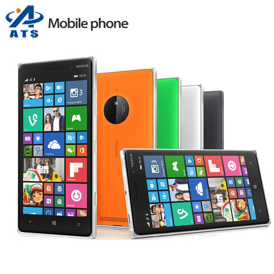 """Original Nokia Lumia 830 Mobile Phone 5.0"""" Screen Quad core 1G RAM 16G ROM 10MP Camera Windows mobile phone(China (Mainland))"""