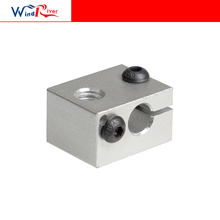 3D printer accessories For e3d v6 Extruder heating block print head heating aluminum block