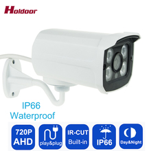 Buy AHD 720P 1MP CMOS Array Leds CCTV Camera IR-Cut Filter Outdoor Night Vision IP66 Waterproof Security Camera, free for $16.99 in AliExpress store