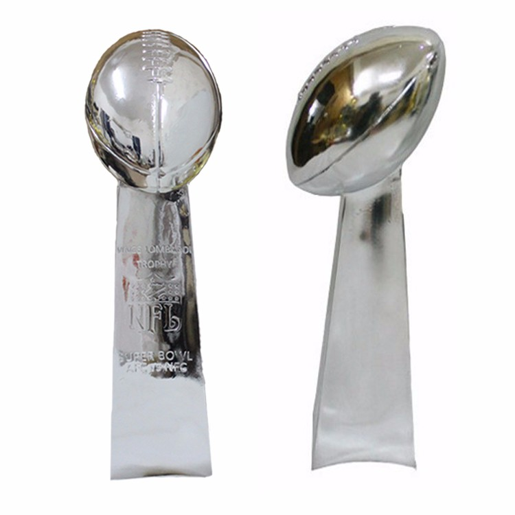 Vince Lombardi Trophy Super Bowl Trophy 22 Inches High Weight 7 Pounds 1:1 Full Size()