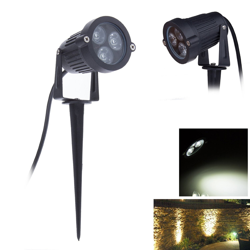 3W Led lawn light LED Landscape Outdoor Garden Wall Yard Pond Flood Spotlight Lawn lamp Outdoor Light waterproof IP65 AC85-265V<br><br>Aliexpress