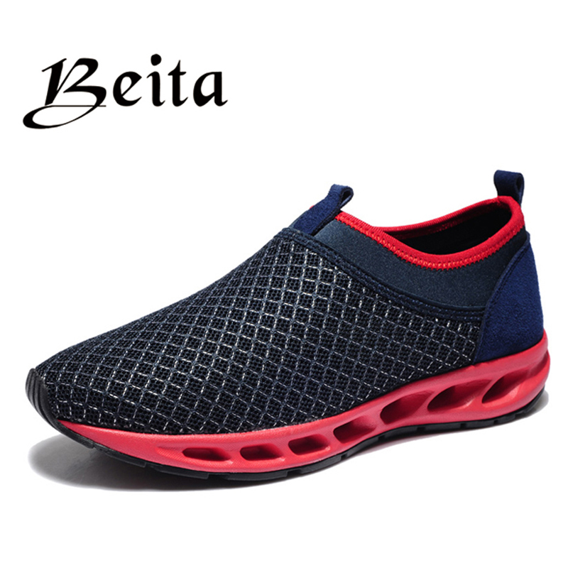 Super breathable and comfortable Running shoes mesh upper Men athletic shoes, high quality famous brand sports shoes running(China (Mainland))