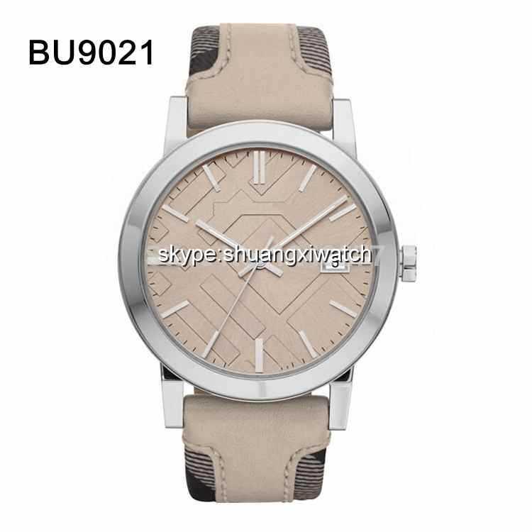 New men wristwatch beige band and beige dial gent watch BU9021 9021(China (Mainland))
