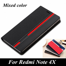 Buy Luxury Wallet Style Card Slot holder Phone Cover Redmi Note4X Mixed Colors Top PU Leather Flip Case Xiaomi Redmi Note 4X for $3.71 in AliExpress store