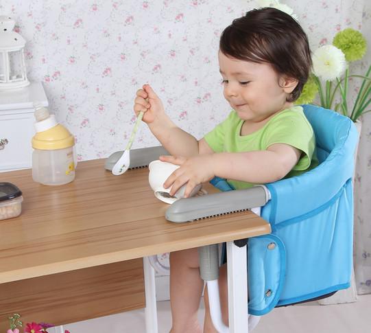 Фотография Baby feeding chair portable infant Dining Chair for babies,Multi-function folding portable baby Dining Chair table chair