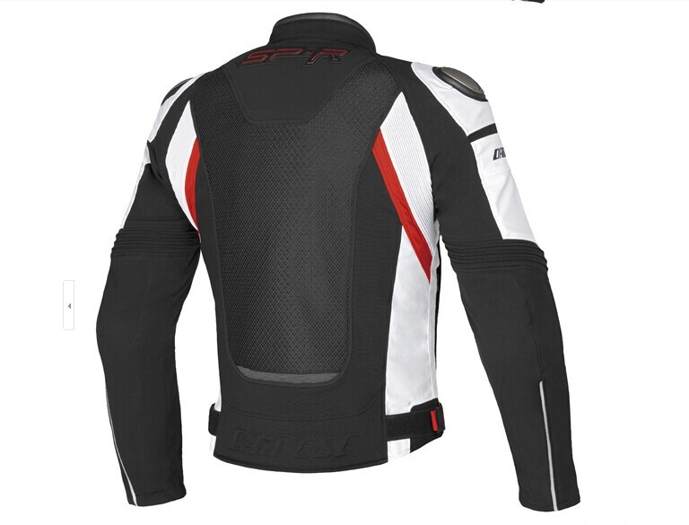 Free Shipping 2015 Dain Super Speed Tex Men's Textile Jacket black sporty motorcycle jacket racing jacket