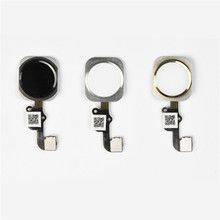 Factory Price Binmer New For iPhone 6 Home Button Touch ID Sensor Key Flex Cable Replacement Nov28 Drop Shipping Drop Shipping(China (Mainland))