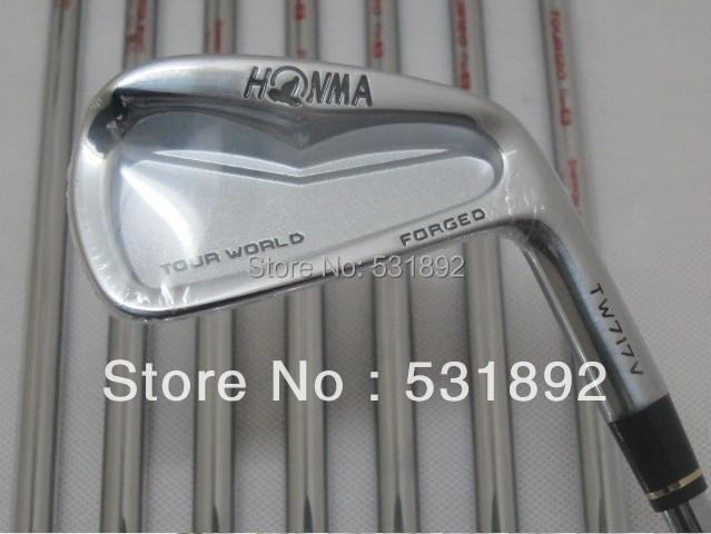 HONMA TW717V Forged Iron Set Golf Clubs Heads 3-10 (8pcs) with N S P O MODUS3 shafts(China (Mainland))