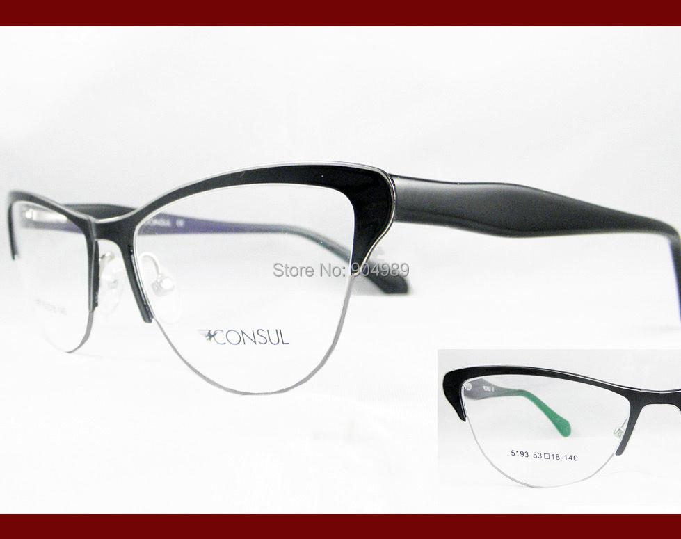 Cat-eye-Eyeglass-frames-Women-Lady-optical-prescription-RX ...