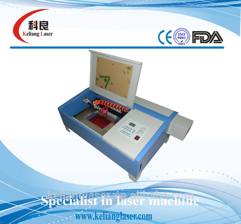 KL320 small handicraft gift laser engraving machine on sales(China (Mainland))
