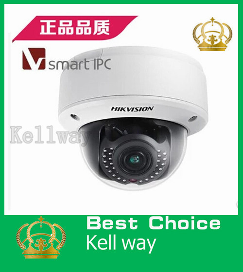 Hikvision 1.3MP WDR Dome Camera,Smart Codec&IR&VQD,Smart Face&Audio Detection,Motorized VF Lens,DS-2CD4112FWD-IZ(China (Mainland))