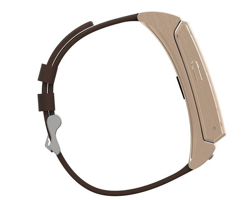 ถูก Uwatchuมินิบลูทูธหูฟังสมาร์ทนาฬิกาbt4.0นอนตรวจสอบสายหนังsmartwatchสำหรับiosหุ่นยนต์โทรศัพท์มือถือ