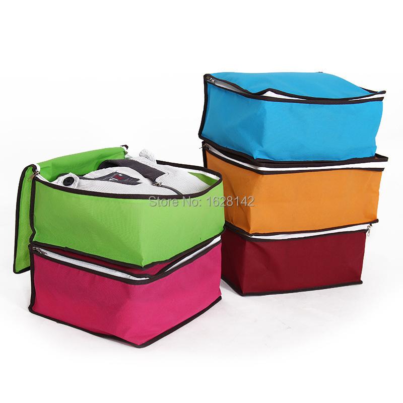 SCA15004/ Recommend Hot Sales Non-Woven Fabric Storage Boxes Bins Set/Clothes Bags Set/6colors - crazy stone shop store