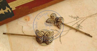 butterfly vintage hair clips hairpins Accessories decor Lady girl's CN post