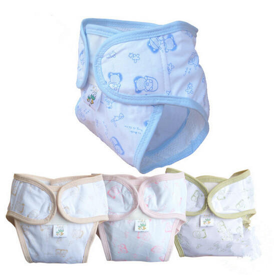 Hot Sale Coolababy Summer Nappy Adjustable Baby Diaper Pants Urine Pocket 10 Pcs Diapers Cloth Leak-proof free Shipping(China (Mainland))