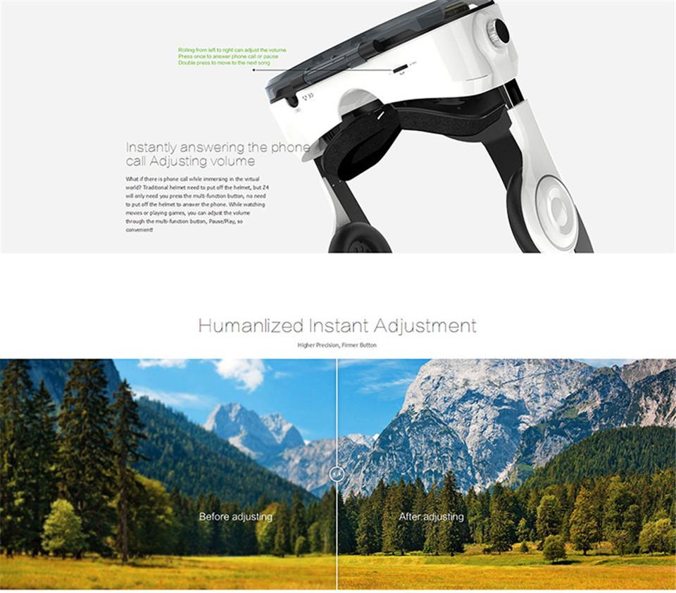 ถูก 100%เดิมXiaozhai BOBOVR Z4ความจริงเสมือนแว่นตา3D VRกระดาษแข็งส่วนตัวโรงละครสำหรับ3.5-6.0นิ้วโทรศัพท์ที่สมจริง
