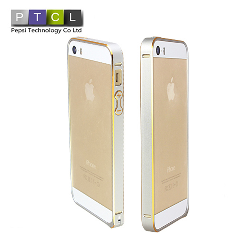 Ultra thin Slim Aluminium Metal Bumper Frame Case For apple Iphone 5/5S/5G Drop shipping(China (Mainland))