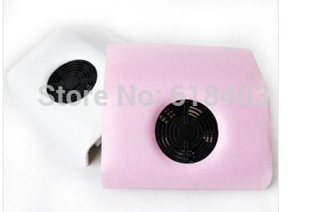 FREE SHIPPING 110 /220V Nail Art Dust Suction Collector Manicure Vacuum Cleaner Tool Nail Dryer(China (Mainland))