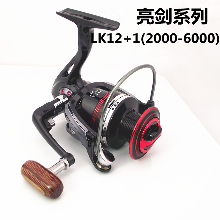 2015 real new spinning reel carp in the production of 13 for Different types of fishing reels