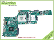 SPS V000245060 For toshiba satellite L630 laptop motherboard HM55 DDR3 6050A2338401-MB-A02